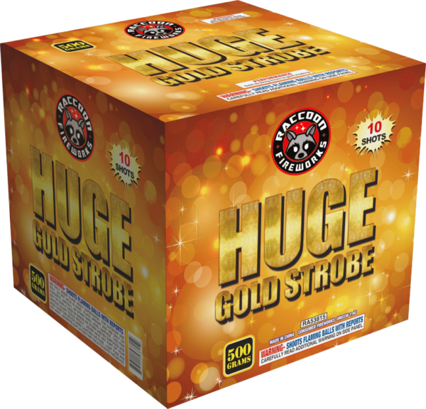 Huge Gold Strobe – 10 Shot