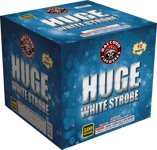 Huge White Strobe – 10 Shot