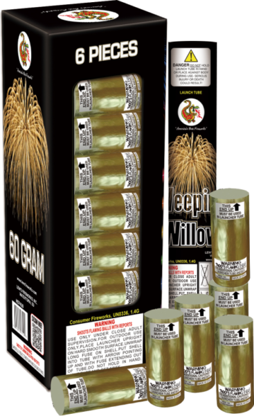 Weeping Willow Artillery Shells