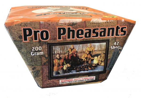"Pro Pheasants – 42 Shot by ""Hot Shot"""