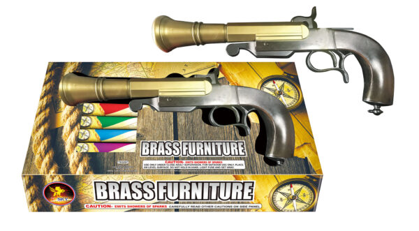 Brass Furniture Pistol