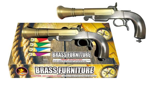 Brass Furniture Pistol