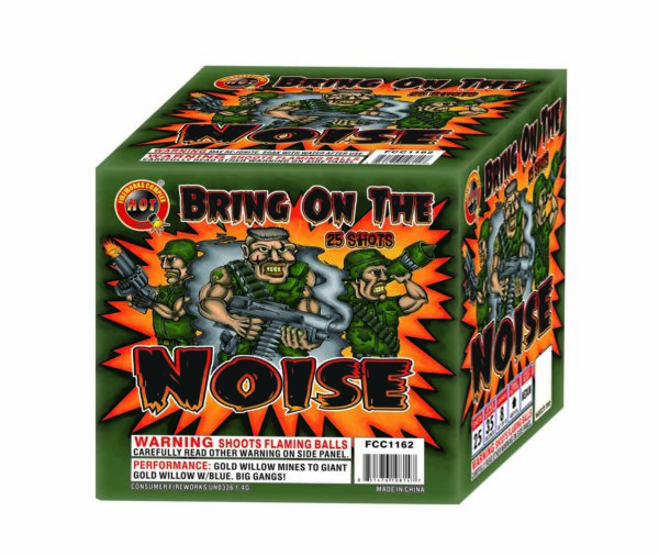Bring on the Noise – 25 Shot