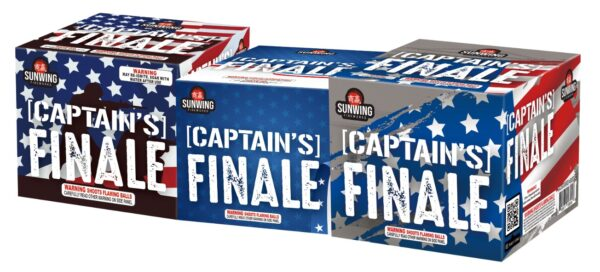 Captain's Finale – 3 Piece Set