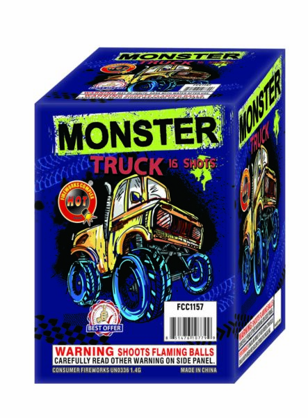 Monster Truck – 16 Shot