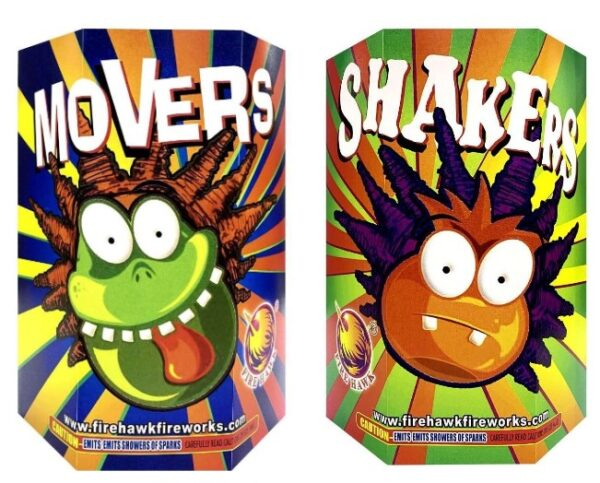 Movers & Shakers (2 Pack)