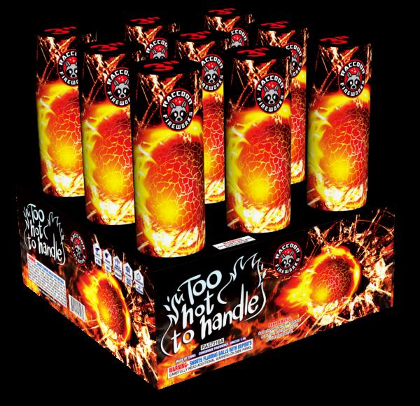 Too Hot To Handle – 9 Shot (3″)