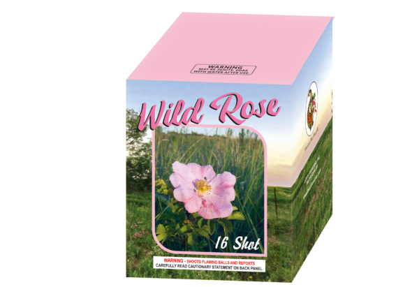 "Wild Rose – 16 Shot by ""Hot Shot"""