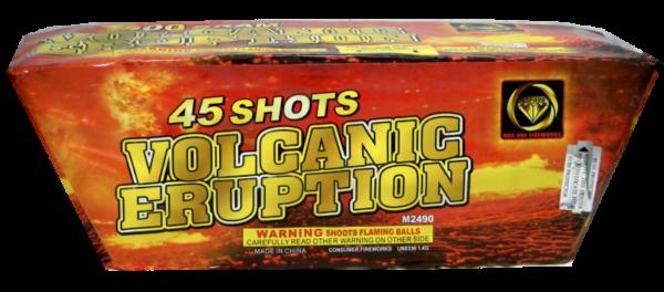 Volcanic Eruption – 45 Shot